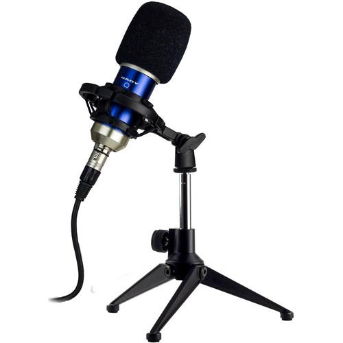 Nady SCM-700 8-Piece Condenser Microphone Recording Kit