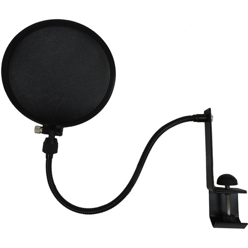 Nady Microphone Pop Filter with Boom and Stand Clamp