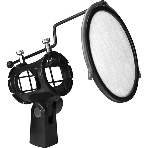 Nady Spider Shockmount with Integrated Pop Filter for Small Condenser Mics