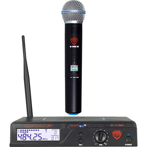 Nady U-1100 HT UHF Cardioid Dynamic Wireless Handheld Microphone System
