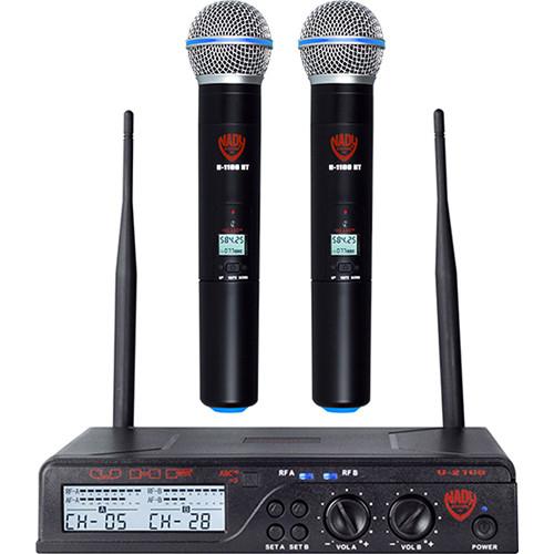 Nady U-2100 HT UHF Cardioid Dynamic Wireless Handheld Microphone System