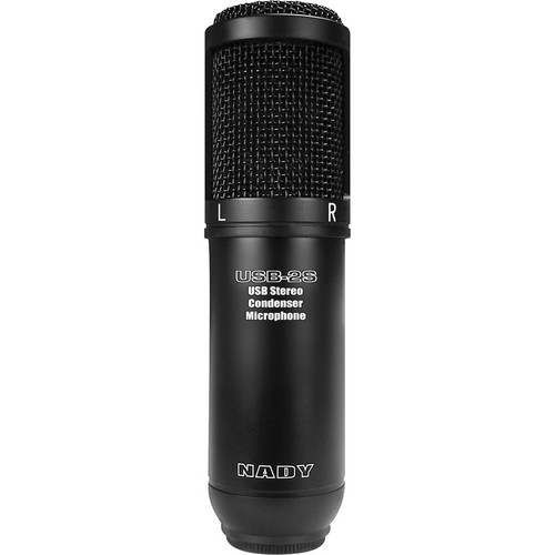 Nady USB-2S Stereo Condenser Microphone