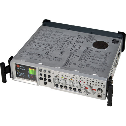 Nagra VI 8-Channel Digital Recorder 60th Anniversary Edition with Brushed-Aluminum Front Panel