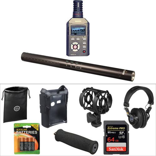 Nagra SD Handheld Digital Audio Recorder & Rode NTG4+ Shotgun Mic Kit
