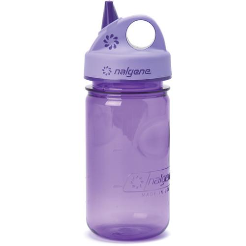 Nalgene Grip 'n Gulp Bottle (12 fl oz, Purple)