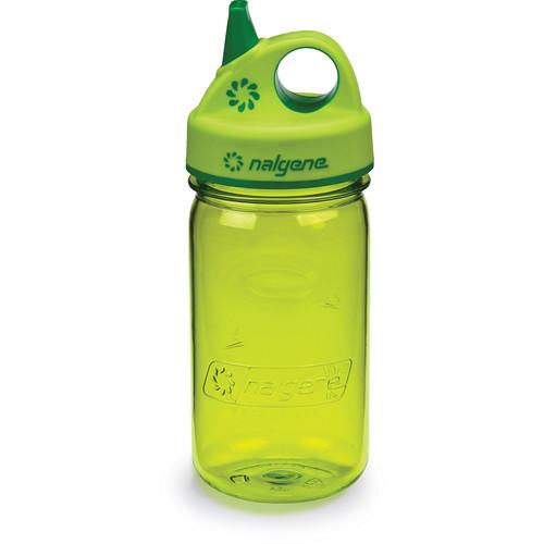 Nalgene Grip 'n Gulp Bottle (12 fl oz, Spring Green)
