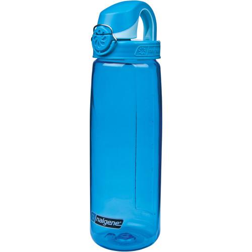 Nalgene On The Fly Bottle (24 fl oz, Blue with Blue Cap)
