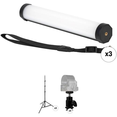Nanlite Vloggers Elite Three-Pint Light Kit