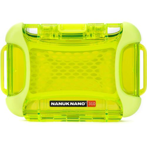 Nanuk Nano 310 Protective Hard Case (Lime)
