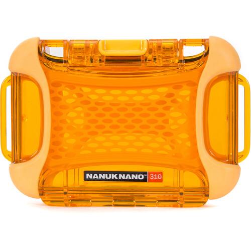 Nanuk Nano 310 Protective Hard Case (Orange)