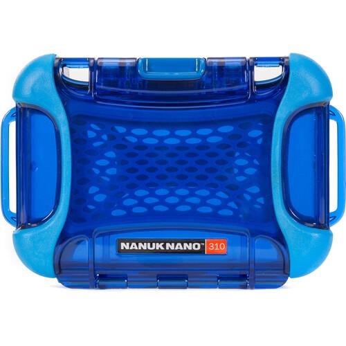 Nanuk 310 NANO Protective Case (Blue)