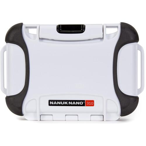 Nanuk Nano 310 Protective Hard Case (White)