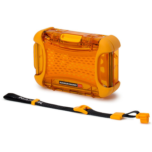 Nanuk Nano 320 Protective Hard Case (Orange)
