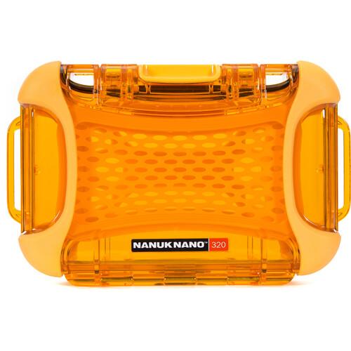 Nanuk Nano 320 Protective Hard Case (Orange)