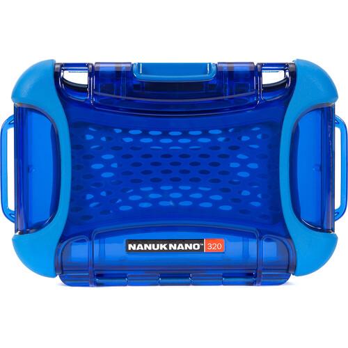 Nanuk 320 Nano Series Protective Hard Case (Blue)