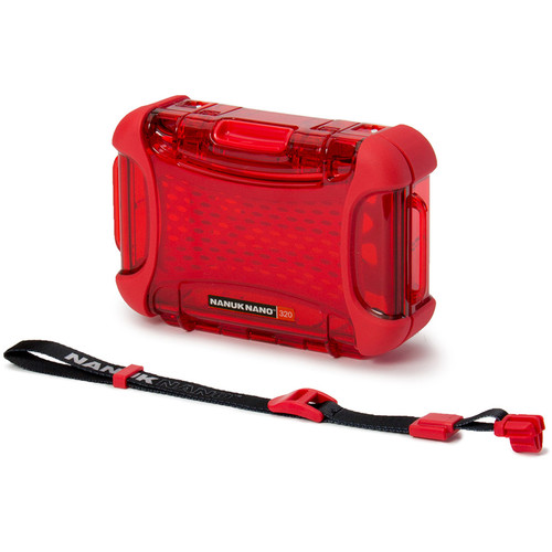 Nanuk Nano 320 Protective Hard Case (Red)