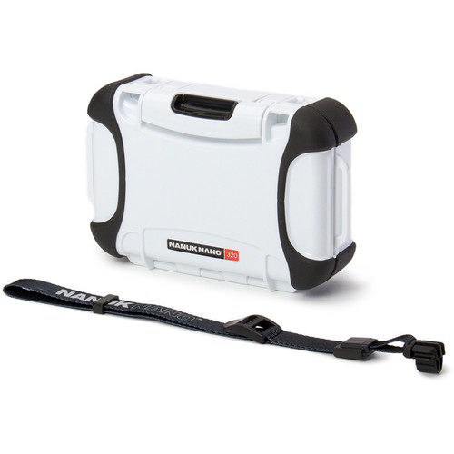 Nanuk 320 Nano Series Protective Hard Case (White)