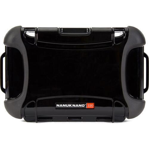 Nanuk Nano 330 Protective Hard Case (Black)