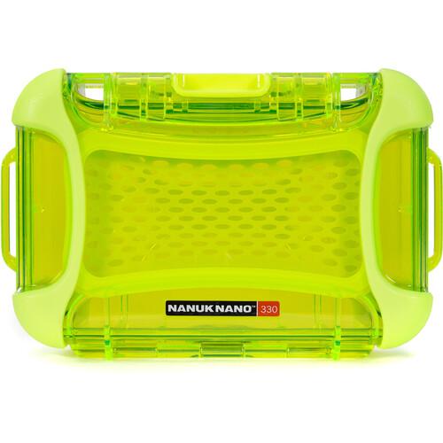 Nanuk Nano 330 Protective Hard Case (Lime)