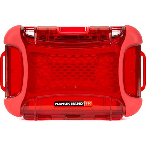 Nanuk Nano 330 Protective Hard Case (Red)