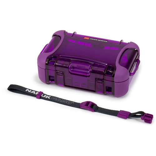 Nanuk Nano 330 Protective Hard Case (Purple)