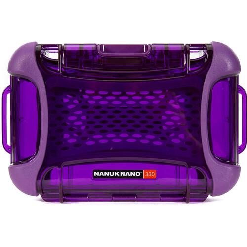 Nanuk 330 NANO Series Hard Case (Purple)