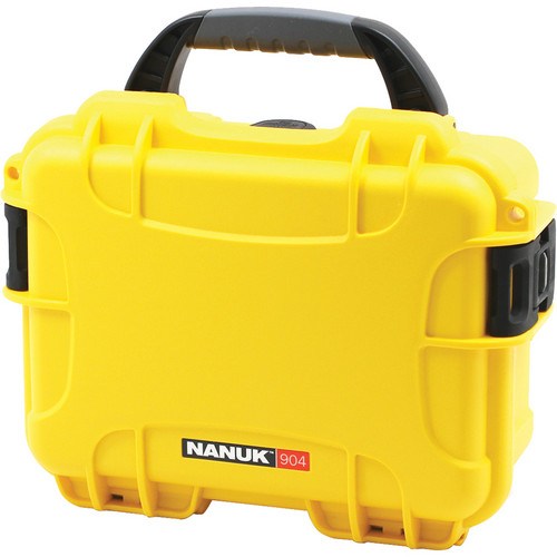 Nanuk 904 Case (Yellow)