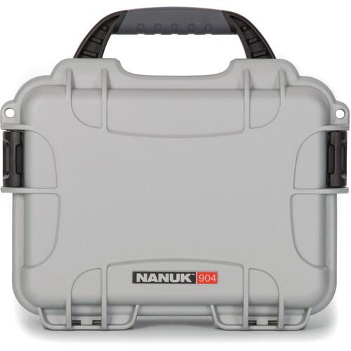 Nanuk 904 Case (Silver)