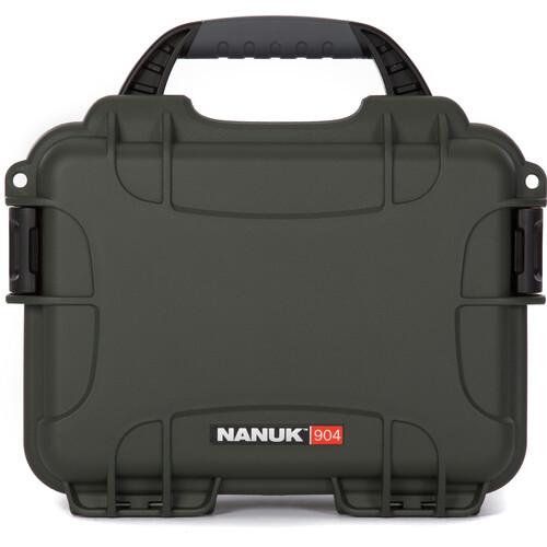 Nanuk 904 Case (Olive)