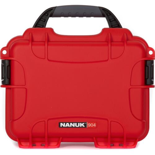 Nanuk 904 Case (Red)