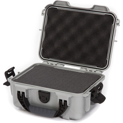 Nanuk 904 Case with Foam (Silver)