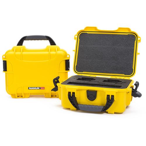Nanuk 904 Waterproof Hard Case for GoPro (Yellow)