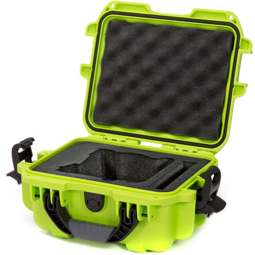 Nanuk 905 Case with Foam Insert for FREEFLY MōVI Cinema Robot Smartphone Stabilizer (Lime)