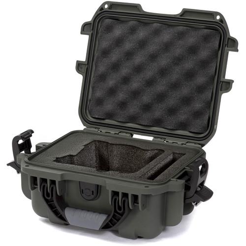 Nanuk 905 Case with Foam Insert for FREEFLY MōVI Cinema Robot Smartphone Stabilizer (Olive)