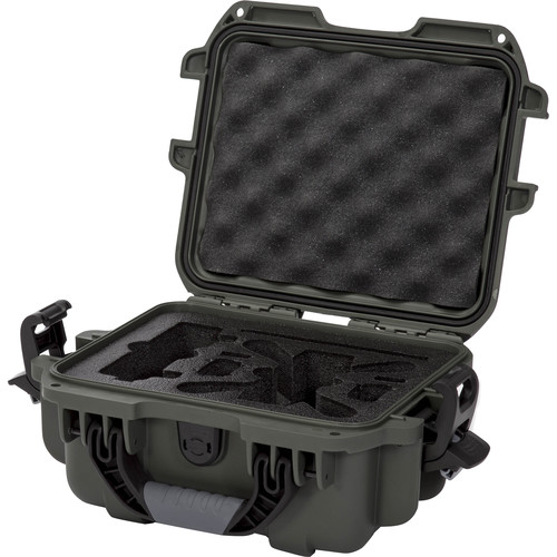 Nanuk 905 Waterproof Hard Case for DJI Spark (Olive)