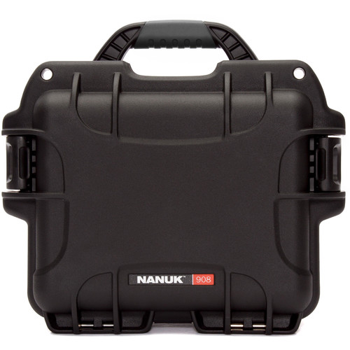 Nanuk 908 Case with No Foam (Black)