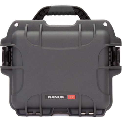 Nanuk 908 Case (Graphite)