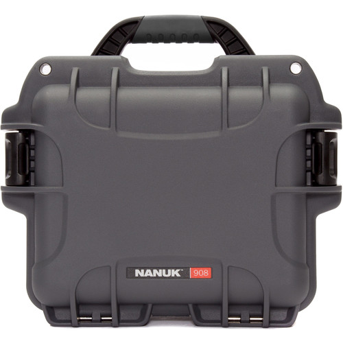 Nanuk 908 Case with No Foam (Graphite)