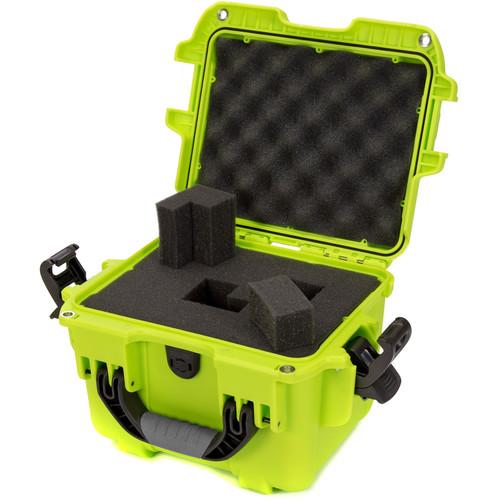 Nanuk 908 Hard Utility Case with Foam Insert (Lime)
