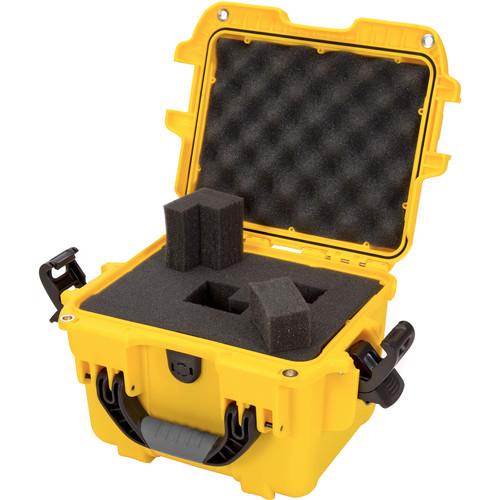 Nanuk 908 Hard Utility Case with Foam Insert (Yellow)