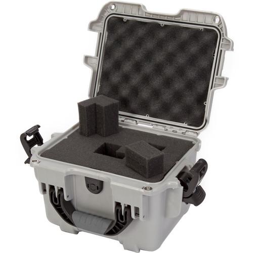 Nanuk 908 Hard Utility Case with Foam Insert (Silver)