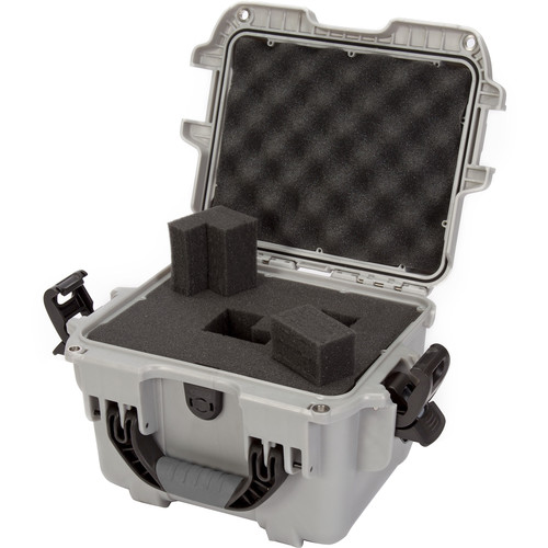 Nanuk 908 Case with Foam (Silver)