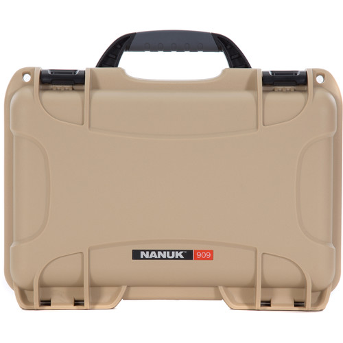 Nanuk 909 Series Case (Tan, with No Foam)