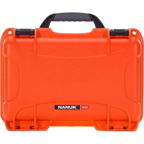 Nanuk 909 Series Case (Orange, with No Foam)