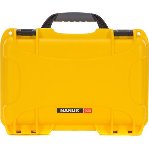 Nanuk 909 Series Case (Yellow)