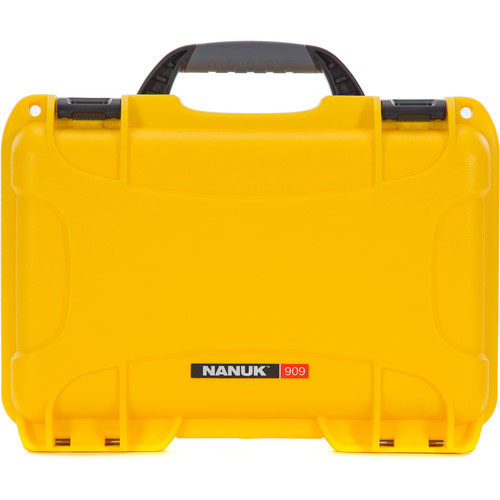 Nanuk 909 Series Case (Yellow, with No Foam)