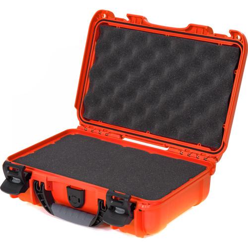 Nanuk 909 Series Case (Orange, with Foam)