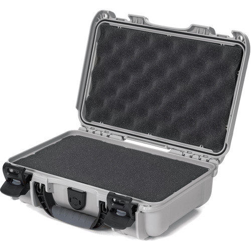 Nanuk 909 Series Case (Silver, with Foam)