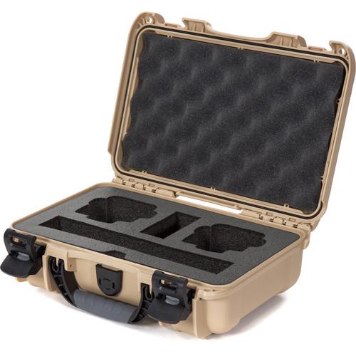 Nanuk 909 Hard Utility Case with Foam Insert for DJI Osmo (Tan)