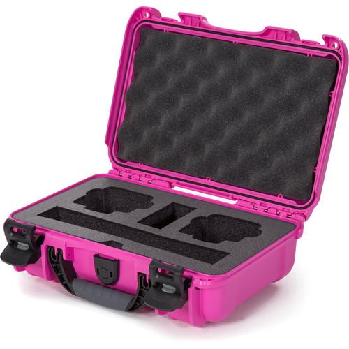 Nanuk Waterproof Hard Case with Foam Insert for DJI Osmo Action Camera (Pink)
